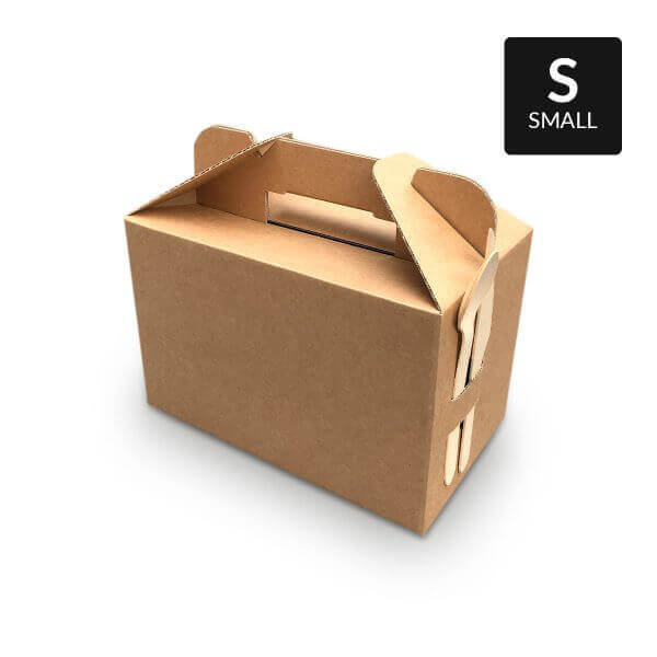 Small picnic box with handle